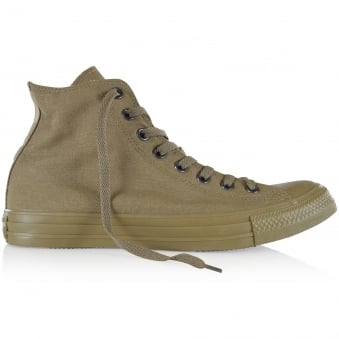 Converse All Star Olive Hi-Top Trainers