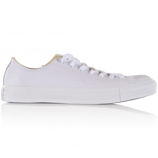 CONVERSE All White Low Trainers