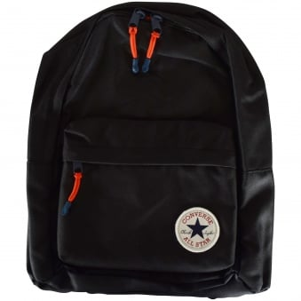 Converse Boys Black Logo Backpack