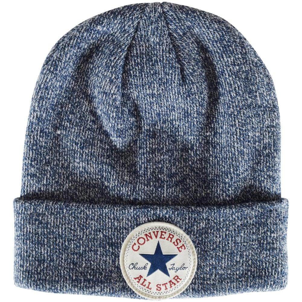 CONVERSE JUNIOR Converse Boys Navy Marl Beanie Hat - Men from ... 6b12405276f