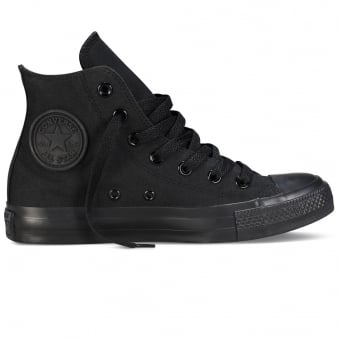 Converse All Star Hi Black Trainers