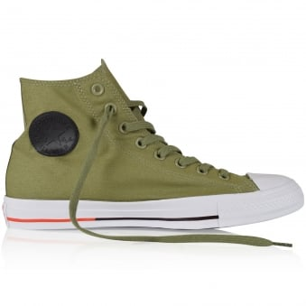 Converse Green All Star Hi Trainers