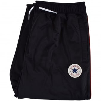 Converse Junior Black Logo Track Pants