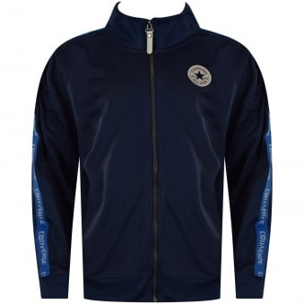 Converse Junior Navy Side Logo Track Top