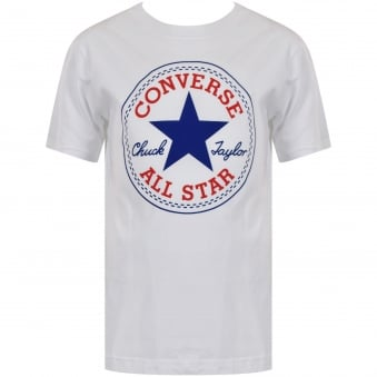 Converse Junior White All Star Logo T-Shirt