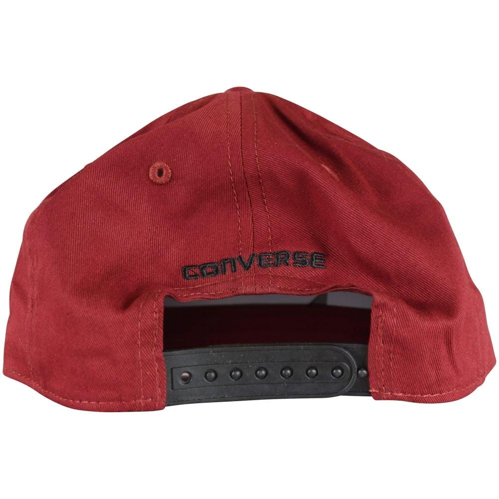 fd2b4ec2f090 CONVERSE JUNIOR Converse Kids Burgundy Snapback Cap - Men from ...