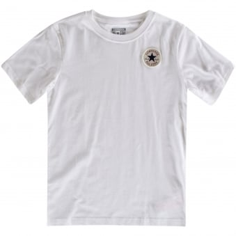 Converse Kids White Logo T-Shirt