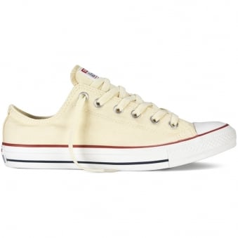 Converse Natural White All Star Lo Trainers