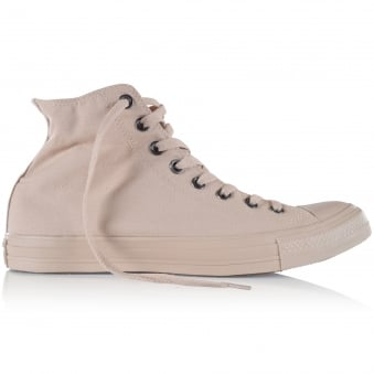 Converse Sand Hi-Top Trainers