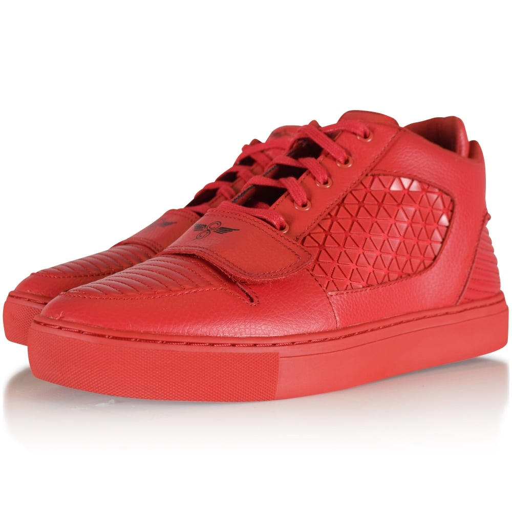 79466d92fca Red Lasala Trainers