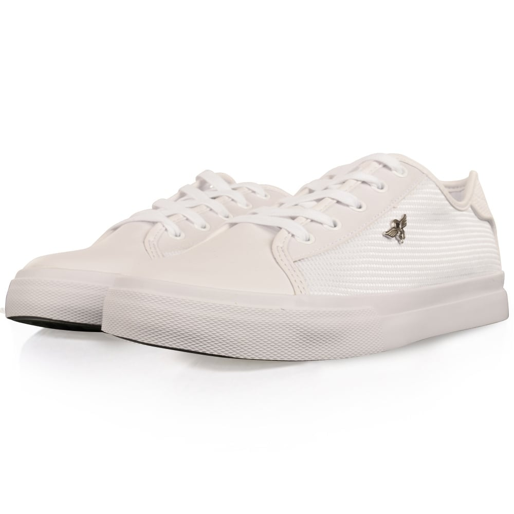 bbb07a8f029 White Kaplan Trainers