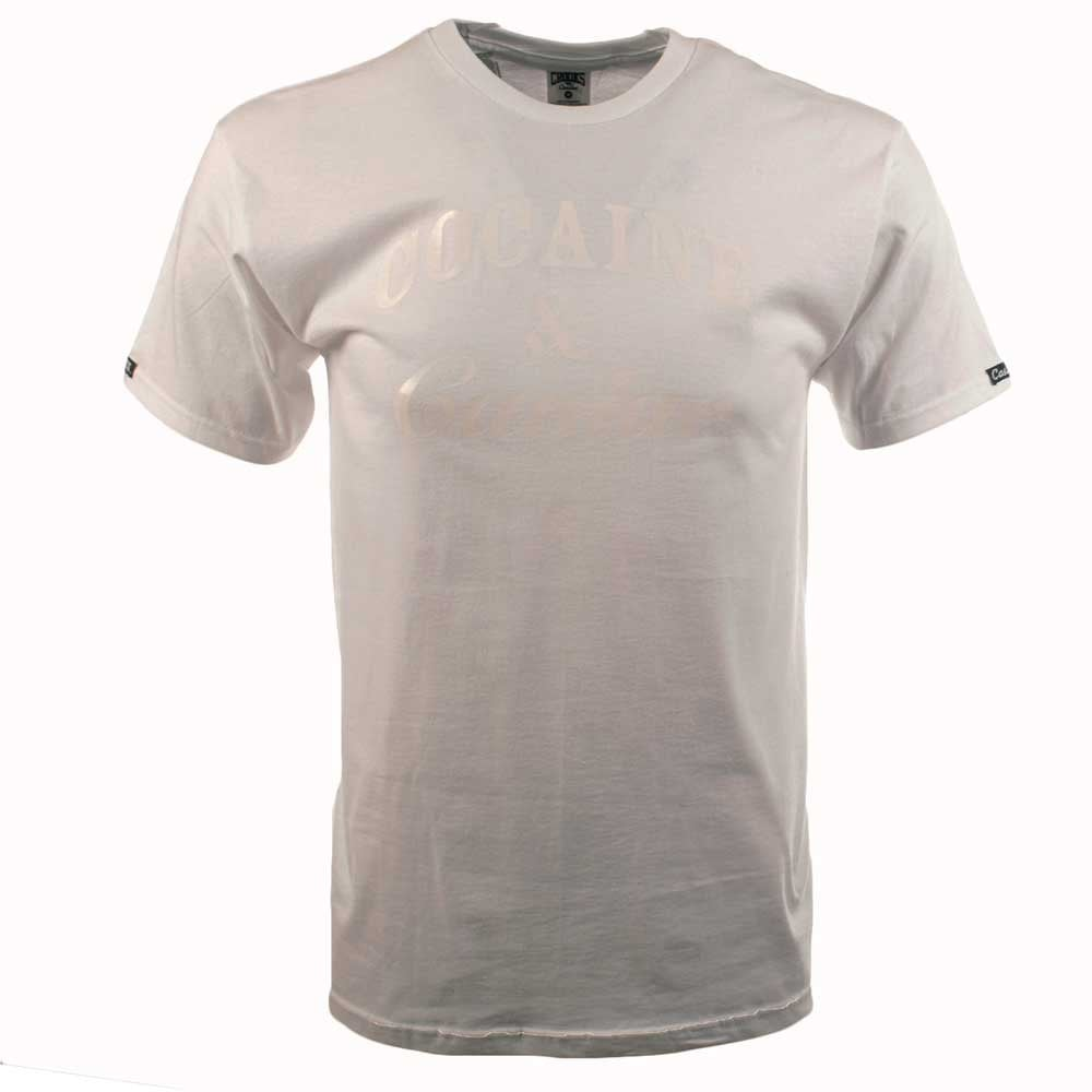 Crooks castles crooks and castle white high shine crew for High crew neck t shirts