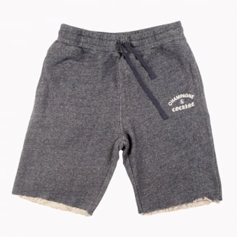 Crooks & Castles Navy Speckle Knitted Shorts