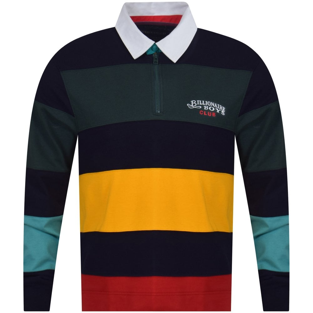 9bb57d2c BILLIONAIRE BOYS CLUB Cut & Sew Rugby Polo Shirt - Department from ...