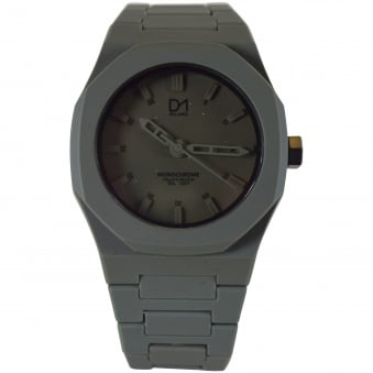 D1 Milano Army Green Monochrome Watch
