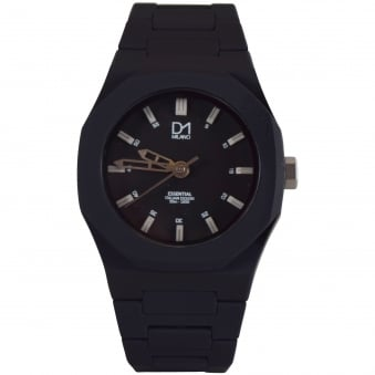 D1 Milano Black Essential Watch