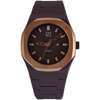 D1 Milano Brown Premium Watch