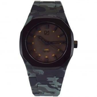 D1 Milano Green Camo Watch