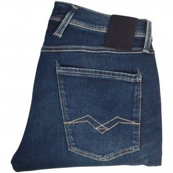 REPLAY Dark Blue Hyperflex Jeans