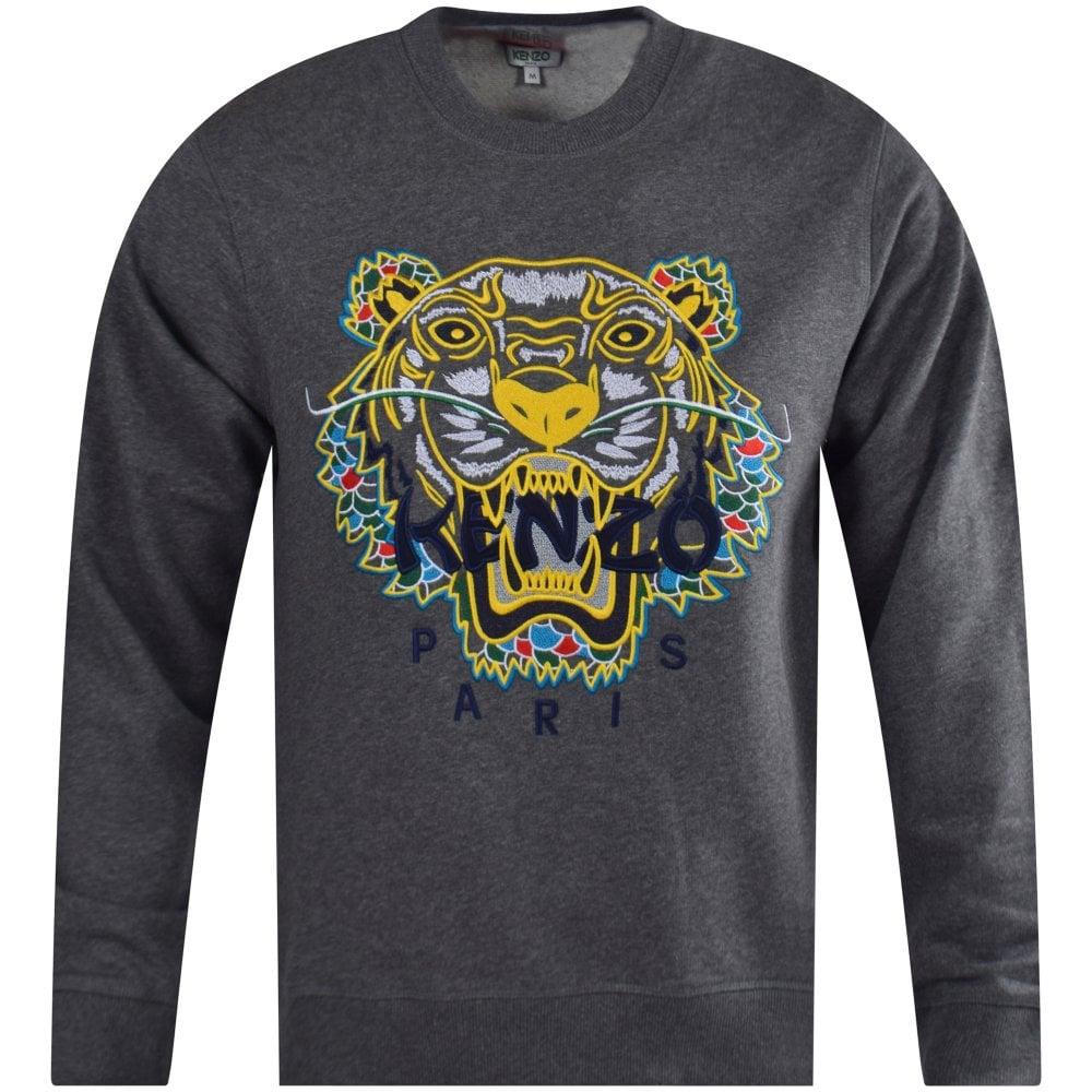 97617f98a5 Dark Grey Dragon Tiger Sweatshirt