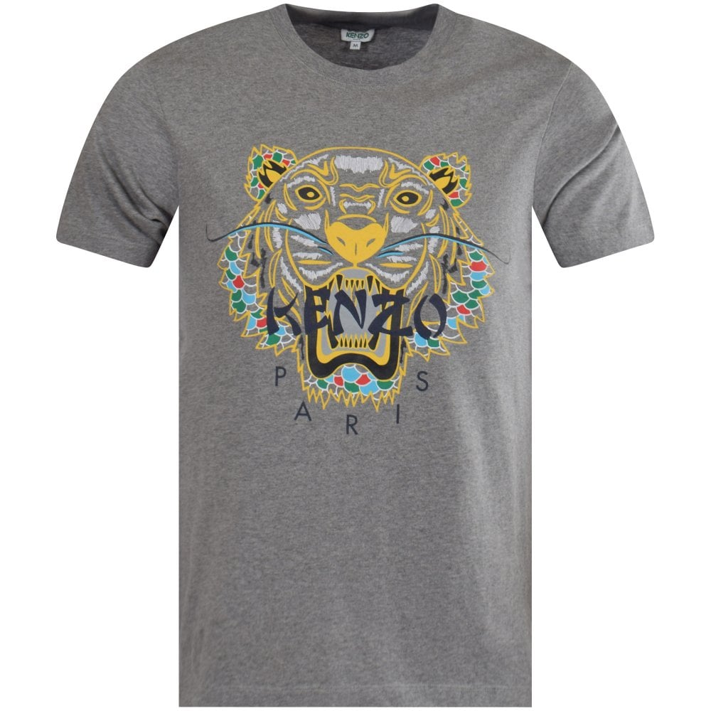 d21d3f0bc KENZO Dark Grey Dragon Tiger T-Shirt - T-Shirts from Brother2Brother UK