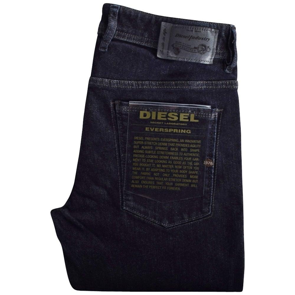 f690962e4c7 DIESEL Diesel Dark Wash Everspring Sleenker Skinny Fit Jeans ...