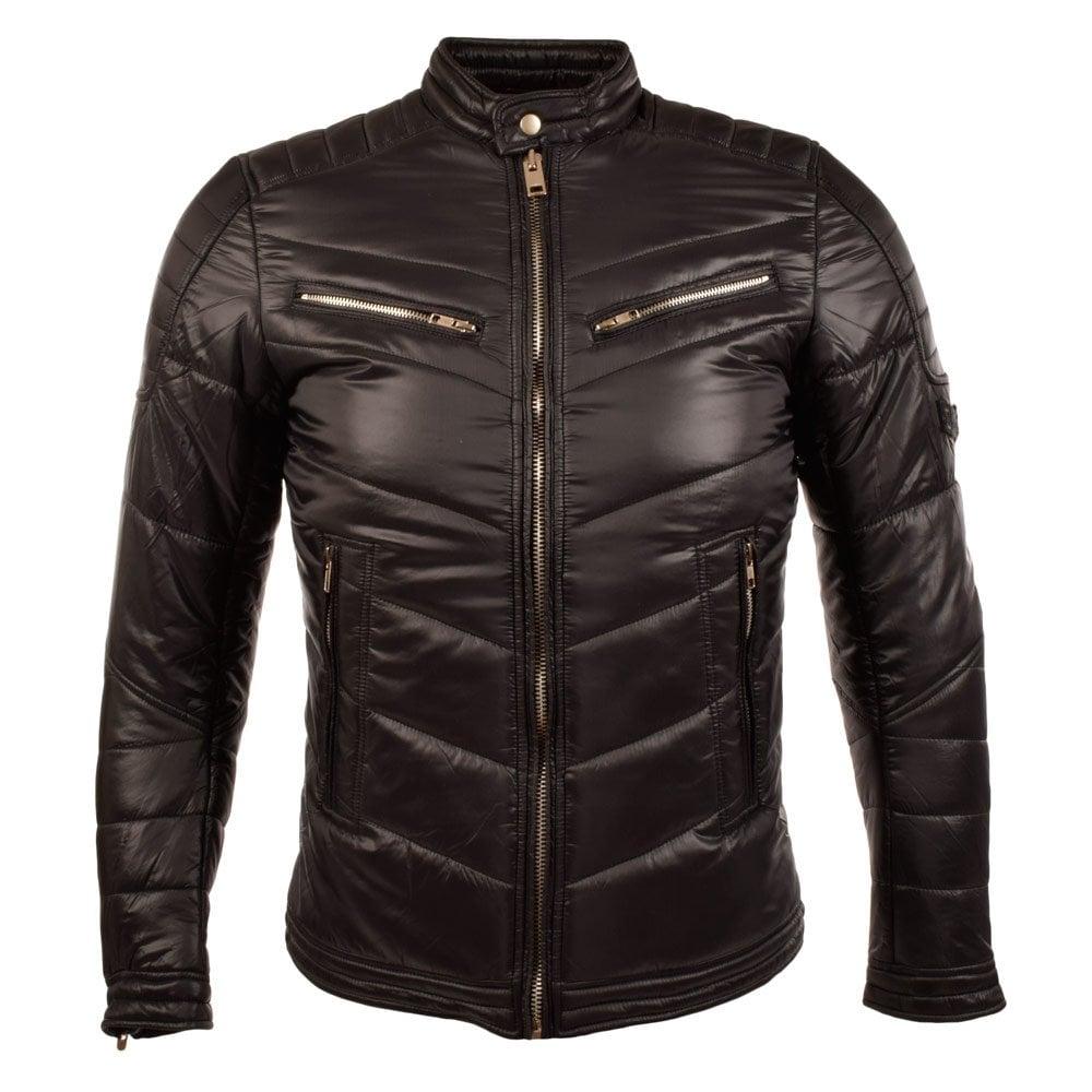 Home u203a Clothing u203a Jackets u203a DIESEL u203a DIESEL Jurvi Black Biker ...