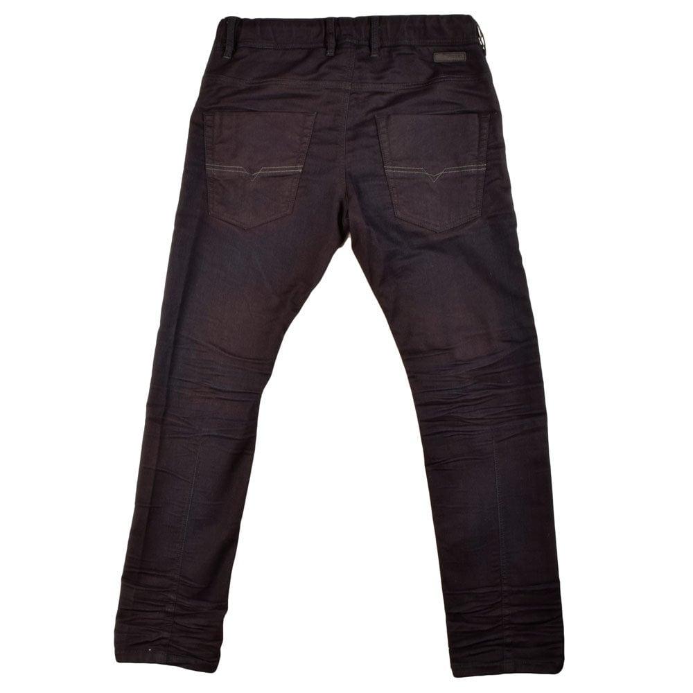 diesel krooley navy jogg jeans diesel from. Black Bedroom Furniture Sets. Home Design Ideas