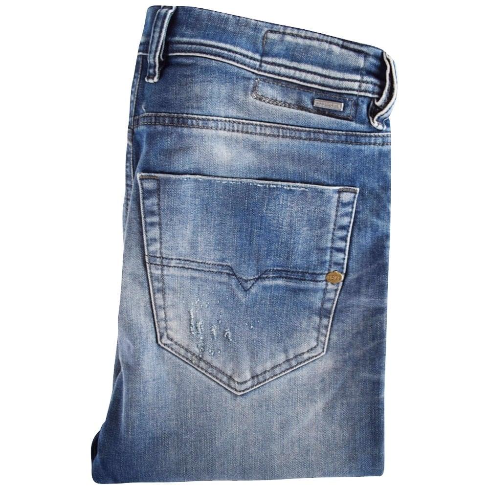b65681b21613 DIESEL Diesel Light Wash Tepphar Slim Fit Jeans - Men from ...