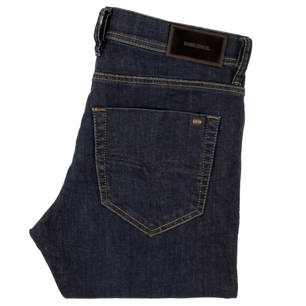 abab0268 DIESEL Diesel Tepphar Slim Carrot Fit Jeans Wash 0845B-Stretch ...