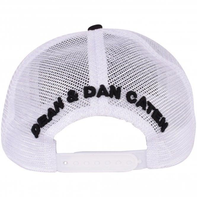 DSQUARED2 Black/White Mesh Logo Cap Reverse