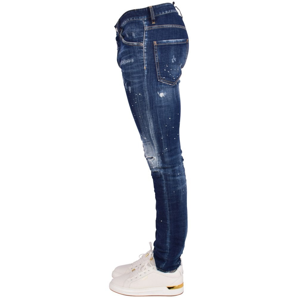 d5cda9dae7a DSQUARED2 Dark Blue Cool Guy Jeans - Men from Brother2Brother UK