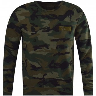41420f47 Dusty Olive Camo Sweatshirt. TRUE RELIGION ...