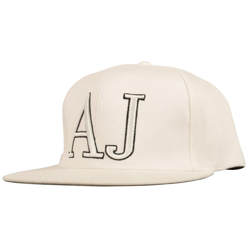 EMPORIO ARMANI Armani Jeans White  AJ  Snapback - Men from ... ca319df1660
