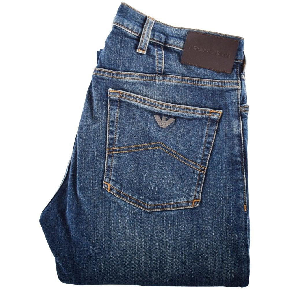 9b9af4c09 Blue J21 Regular Fit Jeans