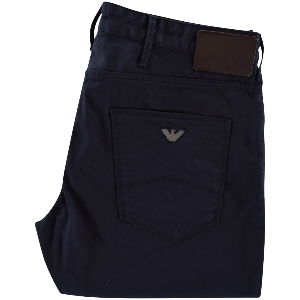 Emporio Armani Blue Logo Jeans