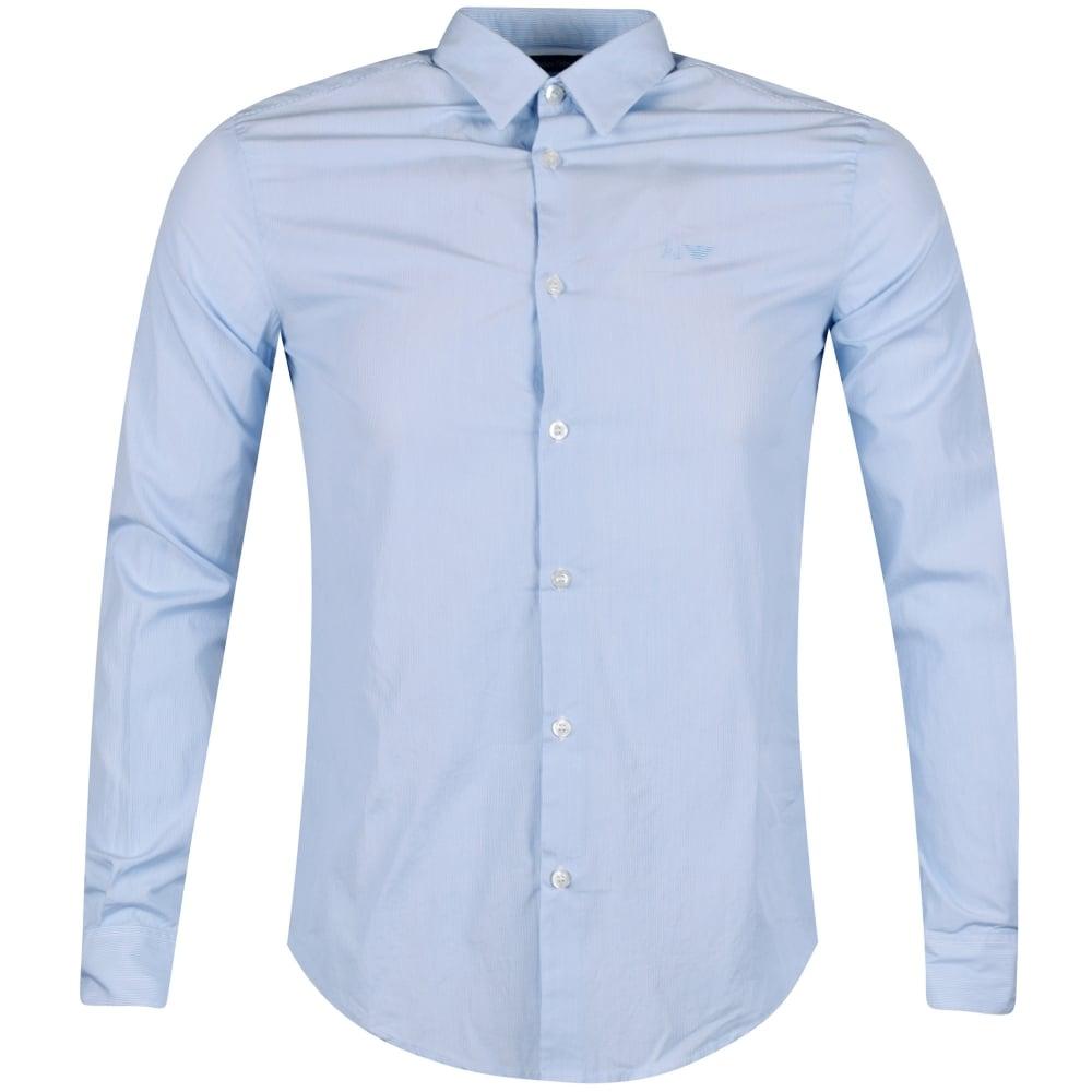 7c08a3724b Blue Slim Fit Shirt
