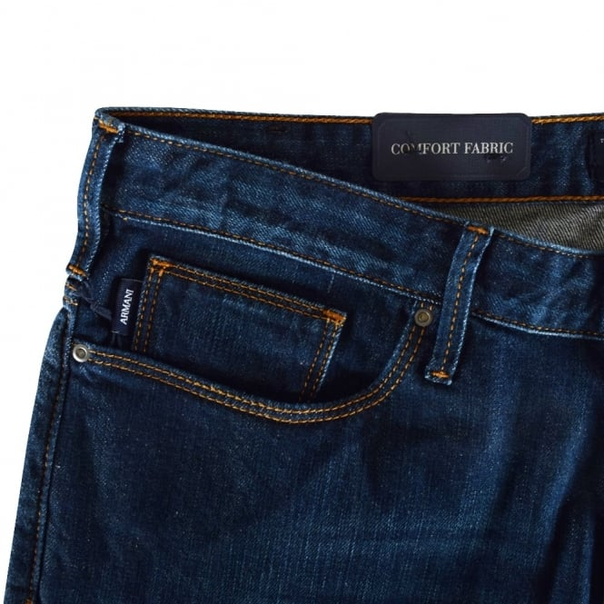 fd63c6d6 Dark Wash J06 Slim Fit Jeans