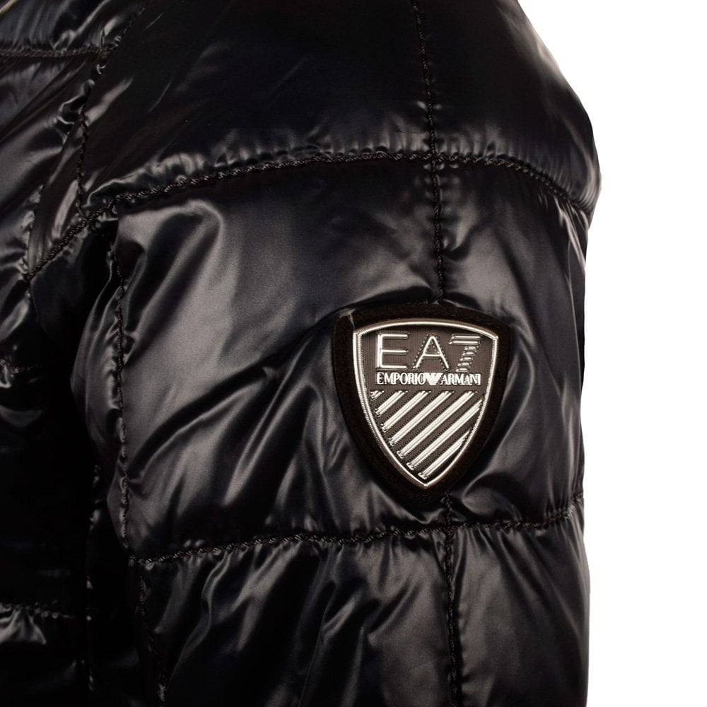 hot-selling newest real quality beauty EA7 Emporio Armani Dark Navy Puffer Jacket