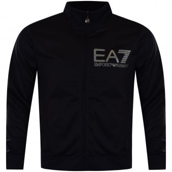 Emporio Armani EA7 Navy Zip Up Jacket & Joggers Set