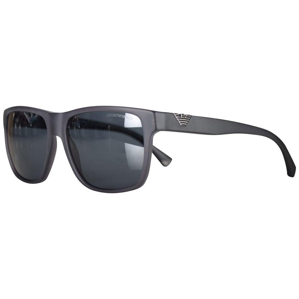 b26a021bfc8 EMPORIO ARMANI Emporio Armani Matte Black Wayfarer Sunglasses - Men ...