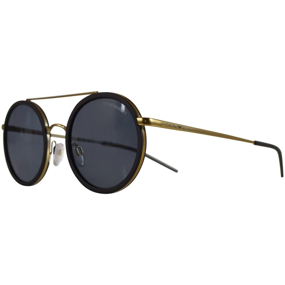 Armani Gold Frame Sunglasses : EMPORIO ARMANI SUNGLASSES Emporio Armani Sunglasses Black ...