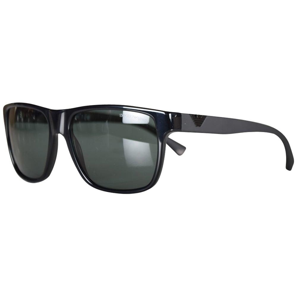 5a88bd7cc4b4 EMPORIO ARMANI Emporio Armani Black Contrast Wayfarer Sunglasses ...