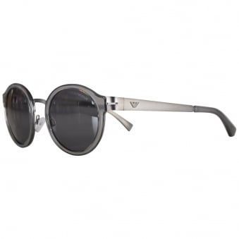 Emporio Armani Black Tea Shade Sunglasses