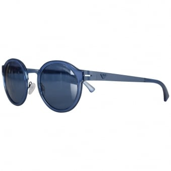 Emporio Armani Blue Tea Shade Sunglasses
