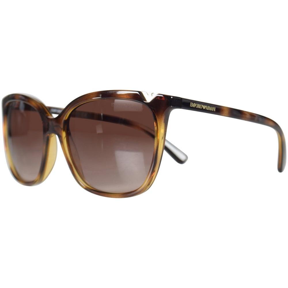 85857604cf81 EMPORIO ARMANI Emporio Armani Brown Matte Sunglasses - Department ...