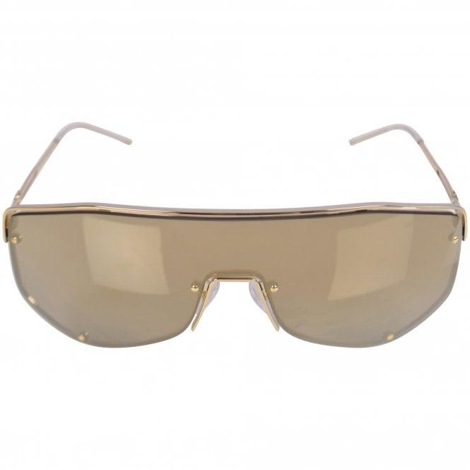 EMPORIO ARMANI SUNGLASSES Gold 2072 Sunglasses Front