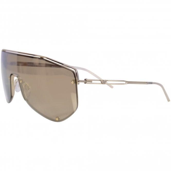 EMPORIO ARMANI SUNGLASSES Gold 2072 Sunglasses Side