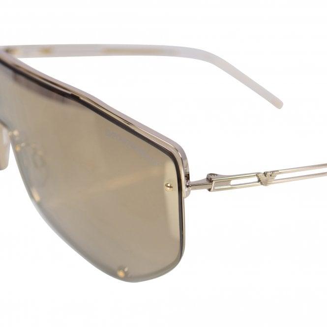 EMPORIO ARMANI SUNGLASSES Gold 2072 Sunglasses Close