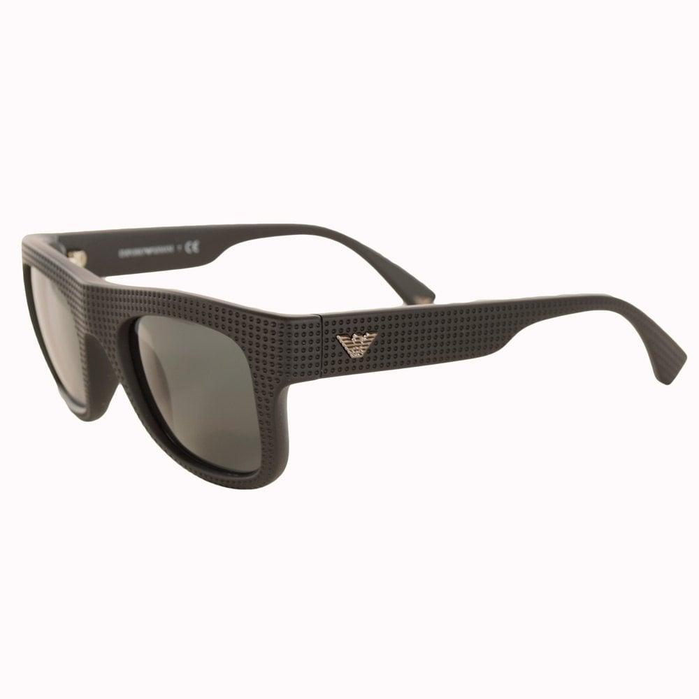 23e3223c570 EMPORIO ARMANI Emporio Armani Sunglasses Thick Black Frame - Men ...